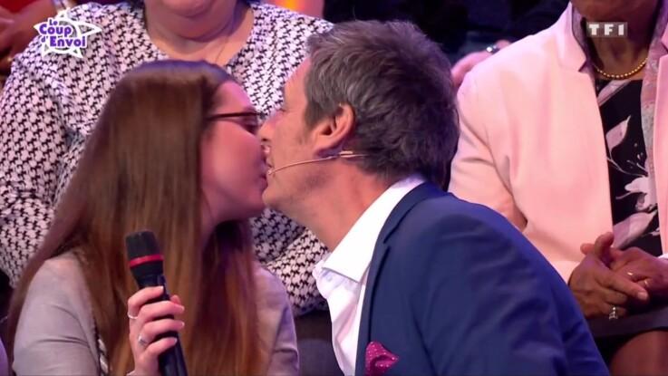 Oups ! Jean-Luc Reichmann embrasse (presque) sur la bouche la compagne d'un candidat très jaloux