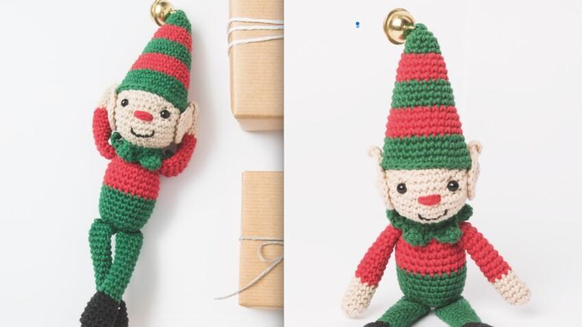 Tuto crochet Noël : un mini lutin