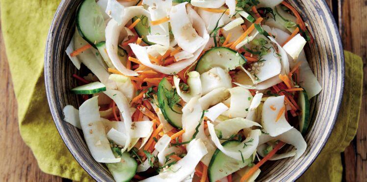 Salade d'endives aux saveurs thaï