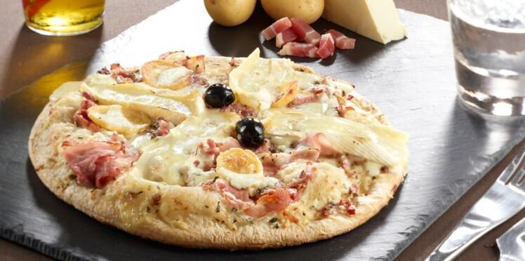 La recette de la pizza tartiflette maison, et quelques variantes