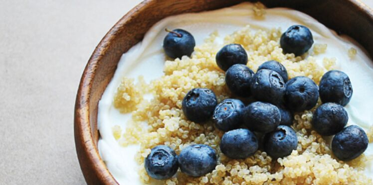 Quinoa aux myrtilles