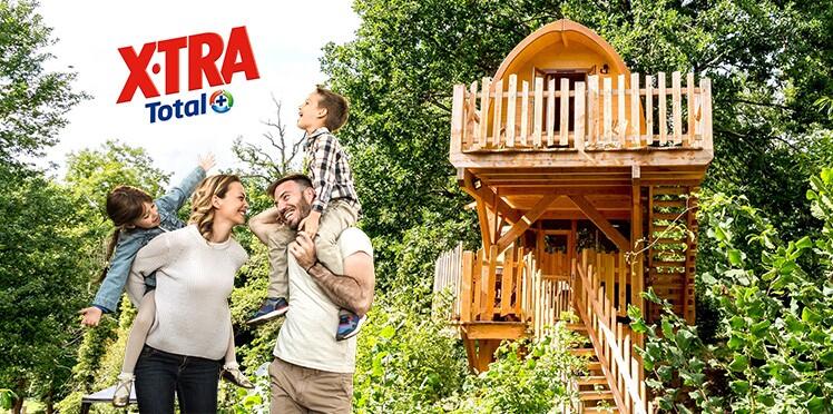 Gagnez un week-end en famille dans une cabane suspendue