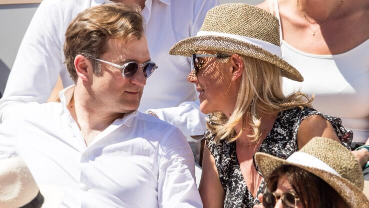 Photos - Laurence Ferrari entourée de son mari Renaud Capuçon et leur fils Elliott à Roland-Garros