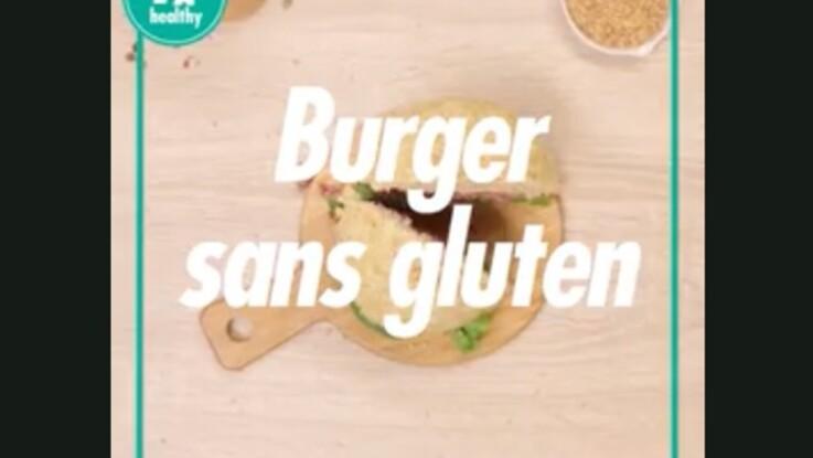 Burger sans gluten : la recette hyper rapide à faire