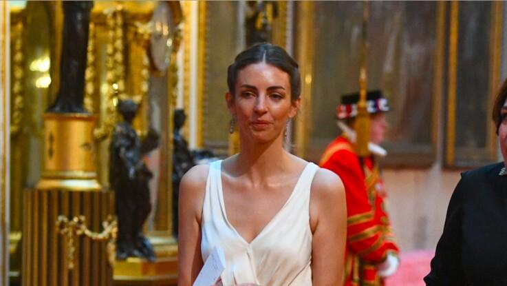 Gênant... Rose Hanbury, supposée maîtresse de William, croise le couple à Buckingham