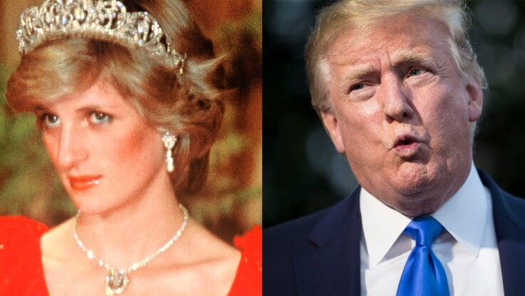 Quand Donald Trump courtisait Lady Diana mais que la princesse repoussait ses avances