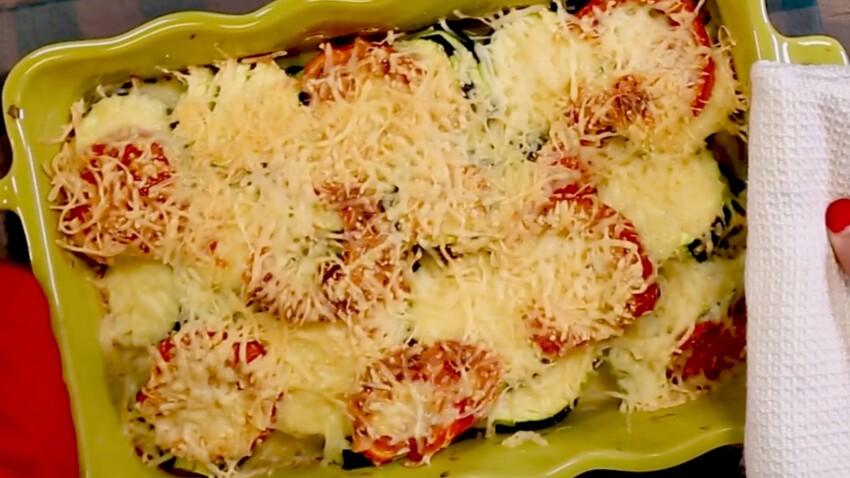 La recette du gratin de courgettes