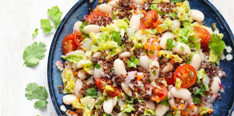 Salade de haricots tarbais & quinoa