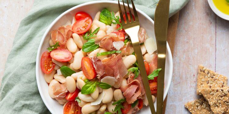 Salade italienne aux haricots tarbais