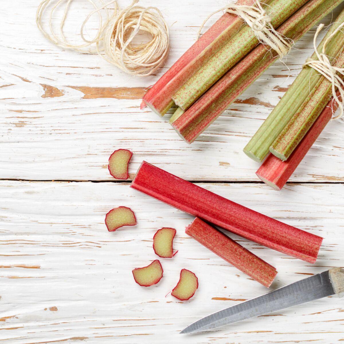 Que Faire Des Fleurs De Rhubarbe comment congeler la rhubarbe ? : femme actuelle le mag