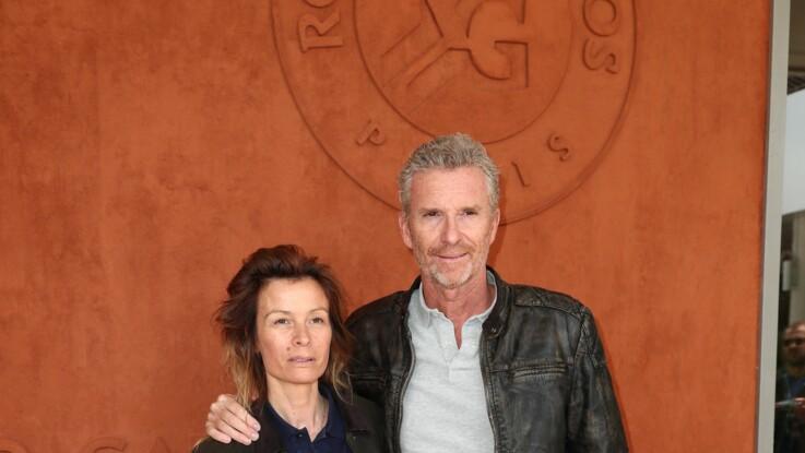 16 ans d'amour ! Denis Brogniart et sa femme Hortense plus complices que jamais à Roland-Garros 2019