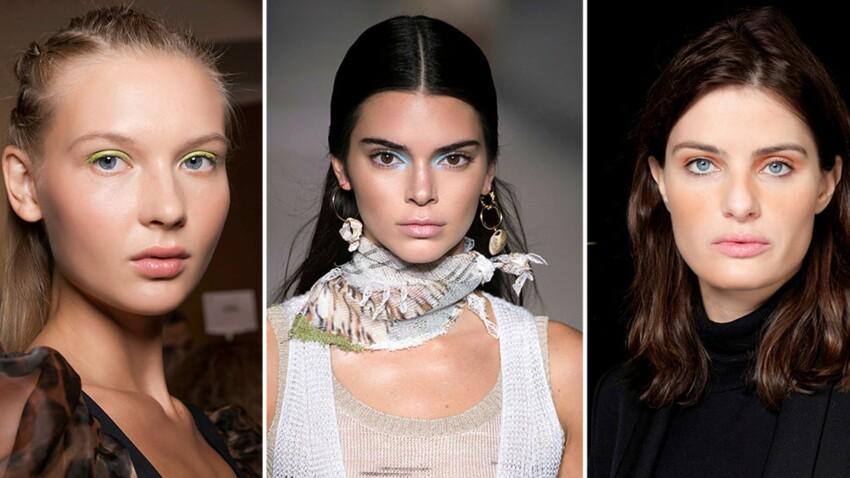 Comment porter le fard à paupière coloré, le make-up tendance de cet été ?