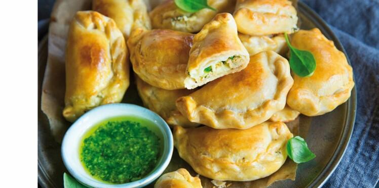 Chaussons et empanadas : 10 recettes sucrées ou salées pour un apéro dînatoire