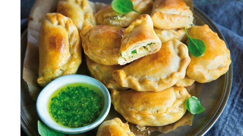 Chaussons et empanadas : nos recettes sucrées ou salées pour un apéro dînatoire