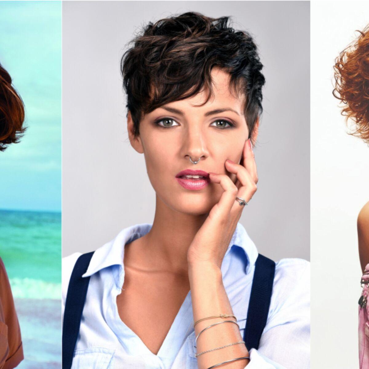 Coupe De Cheveux Nos Idees Pour Les Cheveux Courts Et Boucles Femme Actuelle Le Mag