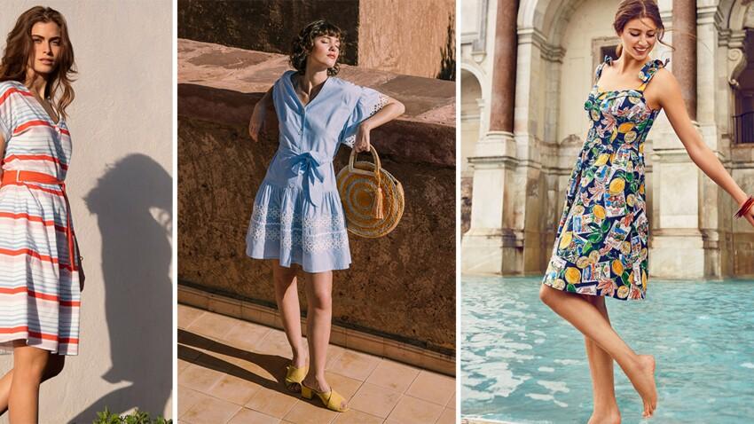 Robe Courte Et Mi Longue Les Plus Beaux Modeles Pour L Ete 2019 Femme Actuelle Le Mag