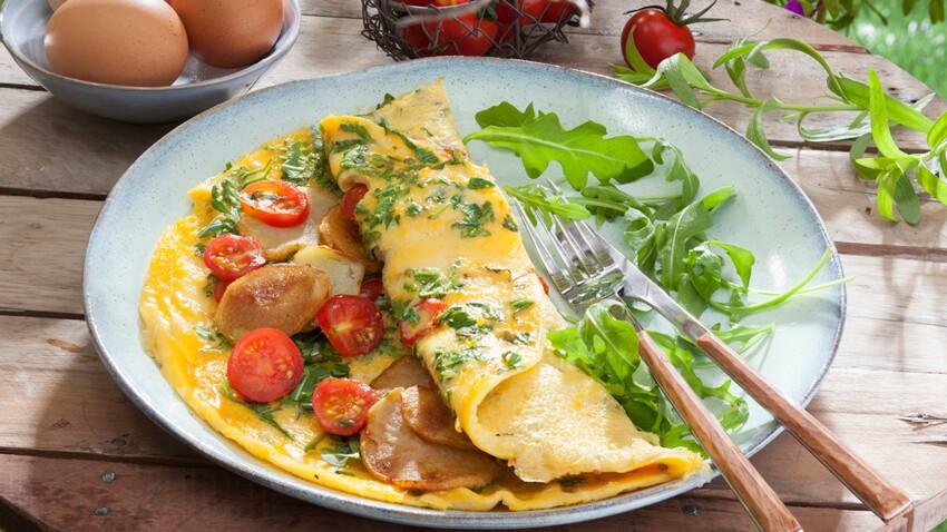 Omelette bel été