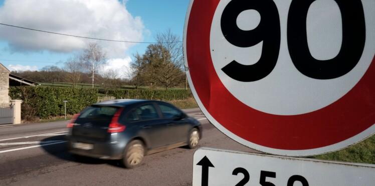 Ces 48 départements vont revenir aux 90 km/h