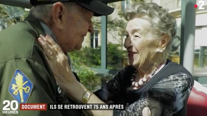 Vidéo - Les retrouvailles bouleversantes d'un soldat américain et d'une Française amoureux pendant la Seconde guerre mondiale