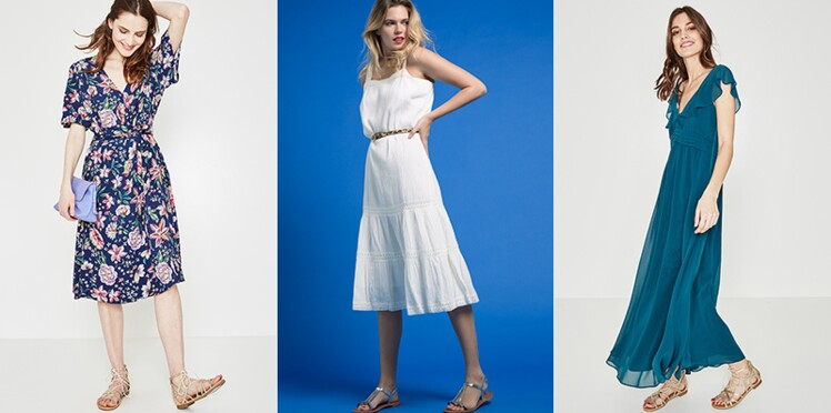 meilleure sélection de 2019 prix raisonnable grossiste Quelle robe d'été en fonction de sa morphologie ? : Femme ...