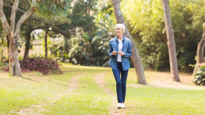 Seniors, marcher 4 400 pas par jour suffit à garder la santé !