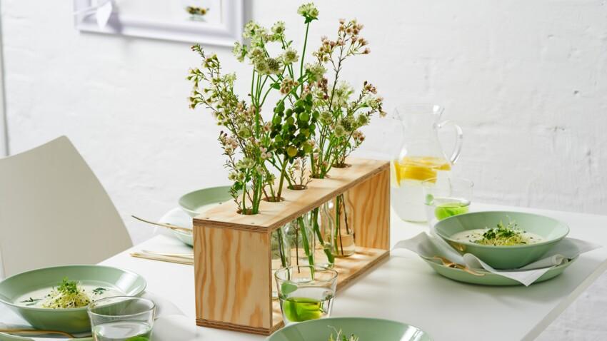 Fabriquer un joli centre de table pour l'été