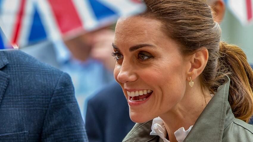 Photos - Kate Middleton : robe moulante et chaussures disco, elle surprend avec un look presque sexy !