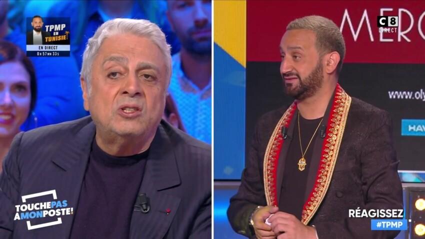 Séquence émotion : la troublante déclaration d'amour d'Enrico Macias à Cyril Hanouna dans TPMP