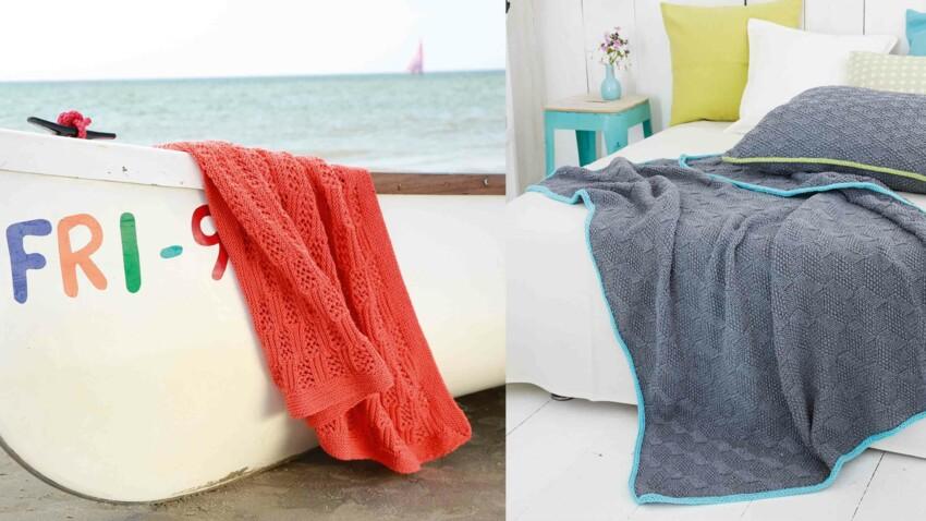 Tricot, crochet, couture : nos plus beaux modèles de plaids
