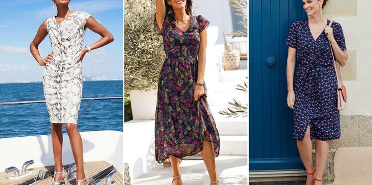 Quelle robe imprimée adopter après 50 ans ?