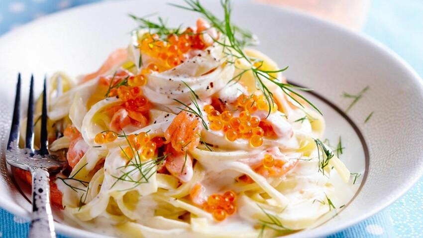 Pâtes au saumon : nos astuces et recettes pour les réussir
