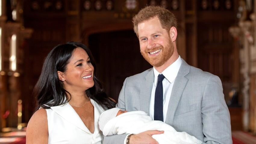 Pour sa première fête des pères, Prince Harry dévoile une belle photo d'Archie