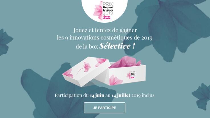 Jeu concours Prix de la Beauté 2019 : gagnez votre box de cosmétiques Sélective