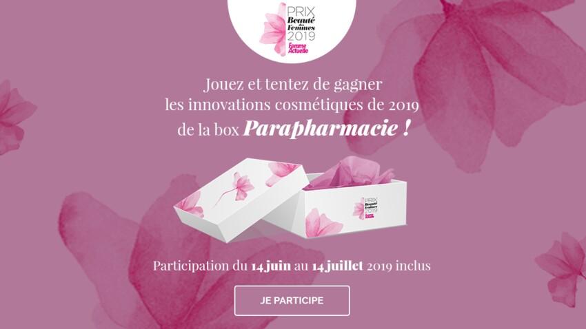 Jeu concours Prix de la Beauté 2019 : gagnez votre box de cosmétiques Parapharmacie