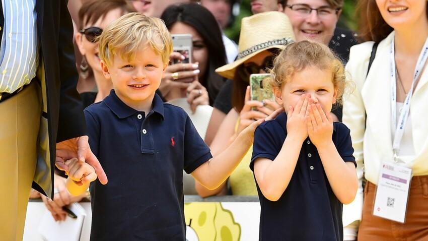 Photos - Jacques et Gabriella de Monaco trop craquants : leur adorable rencontre avec Bob l'Éponge
