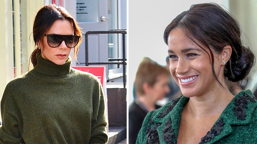 Photos - Quand Victoria Beckham porte la même robe que Meghan Markle !