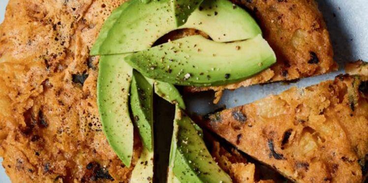 Tortilla aux épinards (omelette aux épinards)