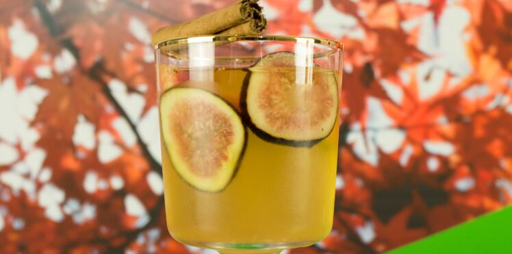 Cocktail Fig Sangria