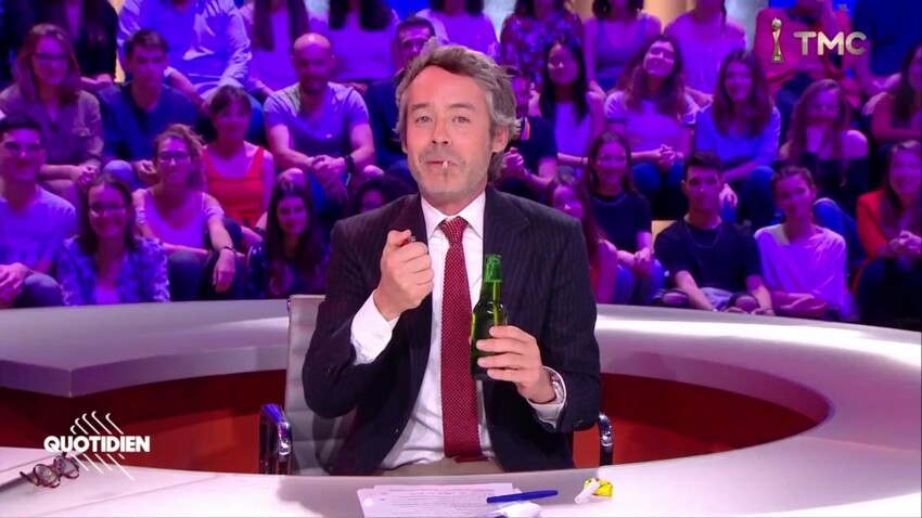 Quotidien: Yann Barthès provoque le CSA avec une fausse fête
