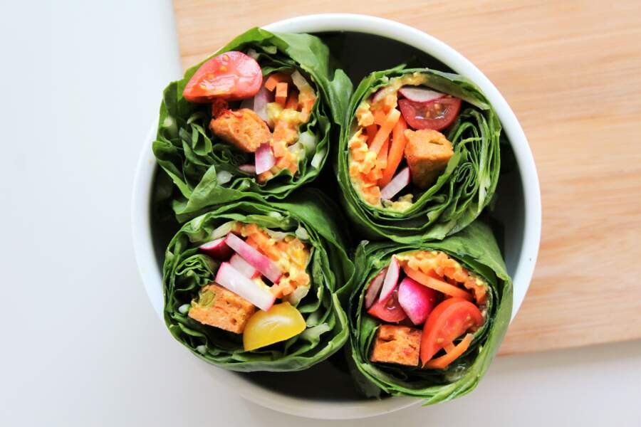 Wraps veggies