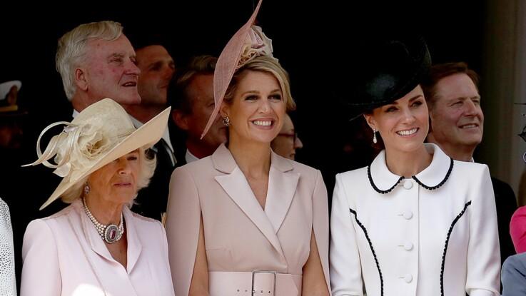 Kate Middleton recadrée par Camilla Parker-Bowles en pleine cérémonie