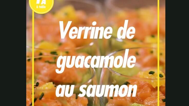 Recette fraîche : la verrine de guacamole et saumon
