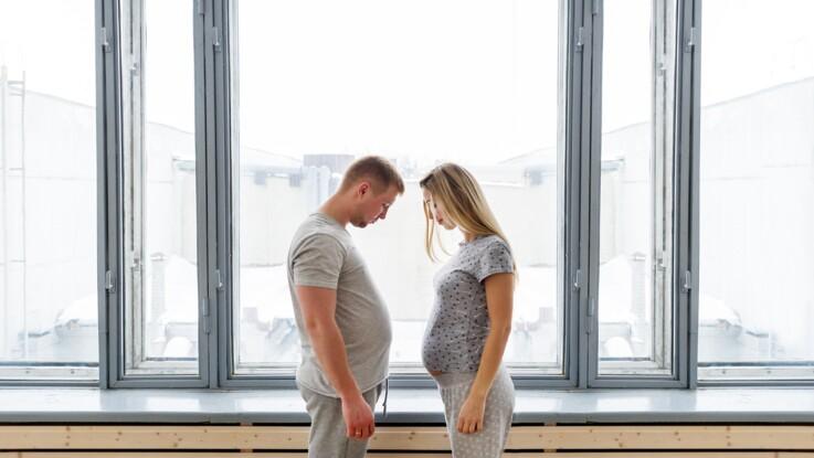 Couvade : quand les hommes ressentent les symptômes de la grossesse