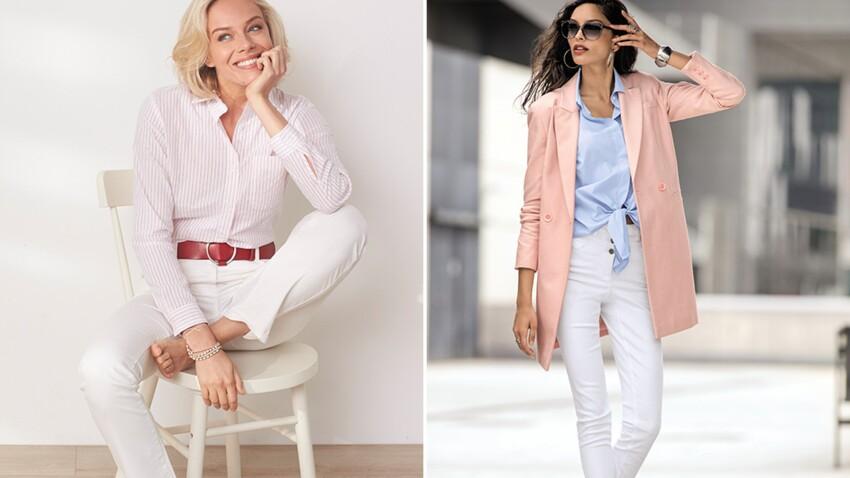 Comment porter le pantalon blanc après 50 ans ?