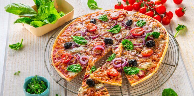 Pizza fraîcheur sans gluten