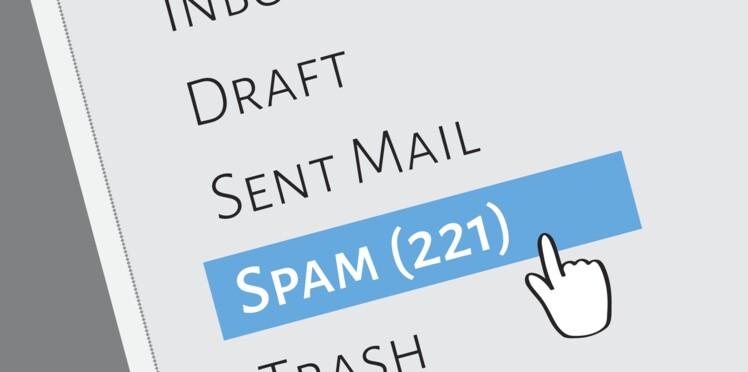 Mes spams et mes messages se mélangent, comment faire ?
