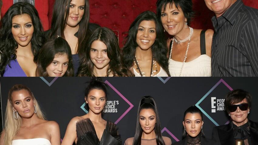 Découvrez l'incroyable évolution physique de la famille Kardashian-Jenner