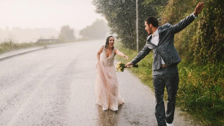 Mariage pluvieux, mariage heureux : d'où vient cette expression ?