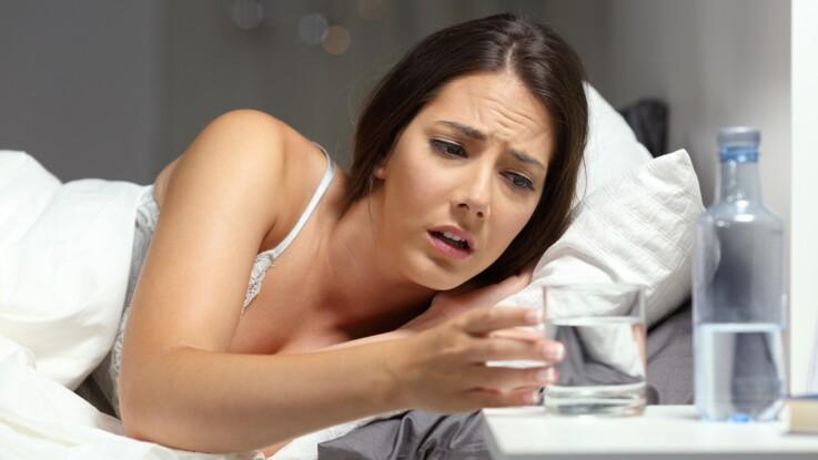 est ce que la transpiration pendant la nuit vous fait perdre du poids