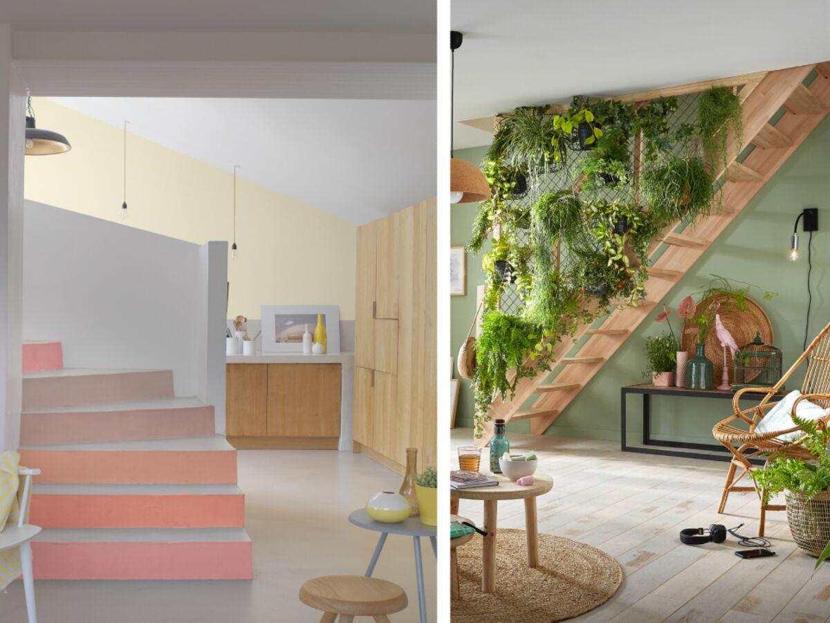 Décoration Marche Escalier Intérieur 2 idées déco pour personnaliser un escalier : femme actuelle